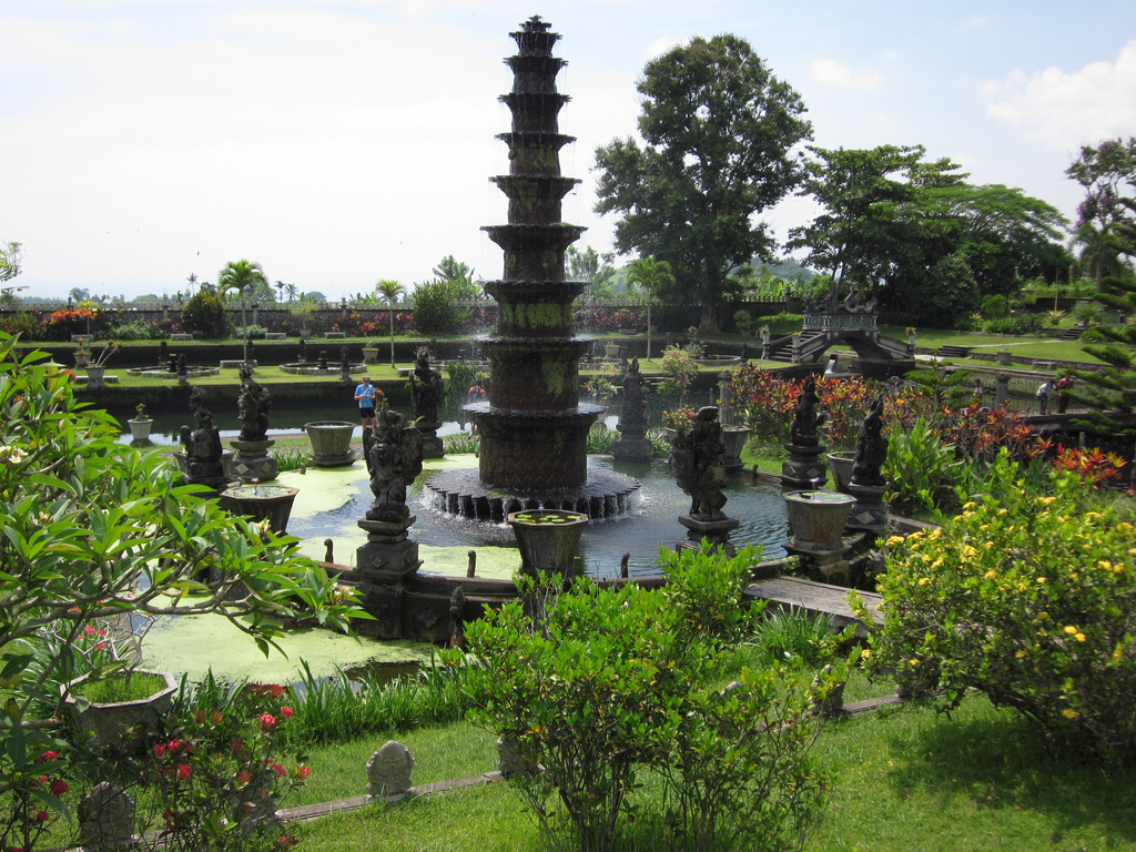 Tirta Gangga Royal Water Garden: Attraction In Bali, Indonesia