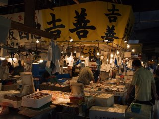 The Tsukiji Market © Christoph Rupprecht