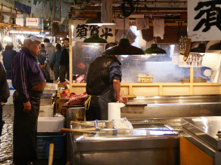 The Tsukiji Market © David Baron
