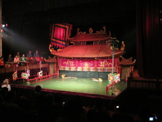 Thang Long Water Puppet Theater © Gryffindor