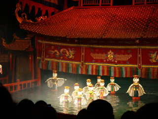 Thang Long Water Puppet Theater © Benjamin Vander Steen