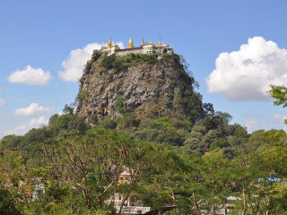 Mount Popa © Scott Edmunds