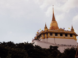 The Golden Mount (Wat Saket) © Shubert Ciencia