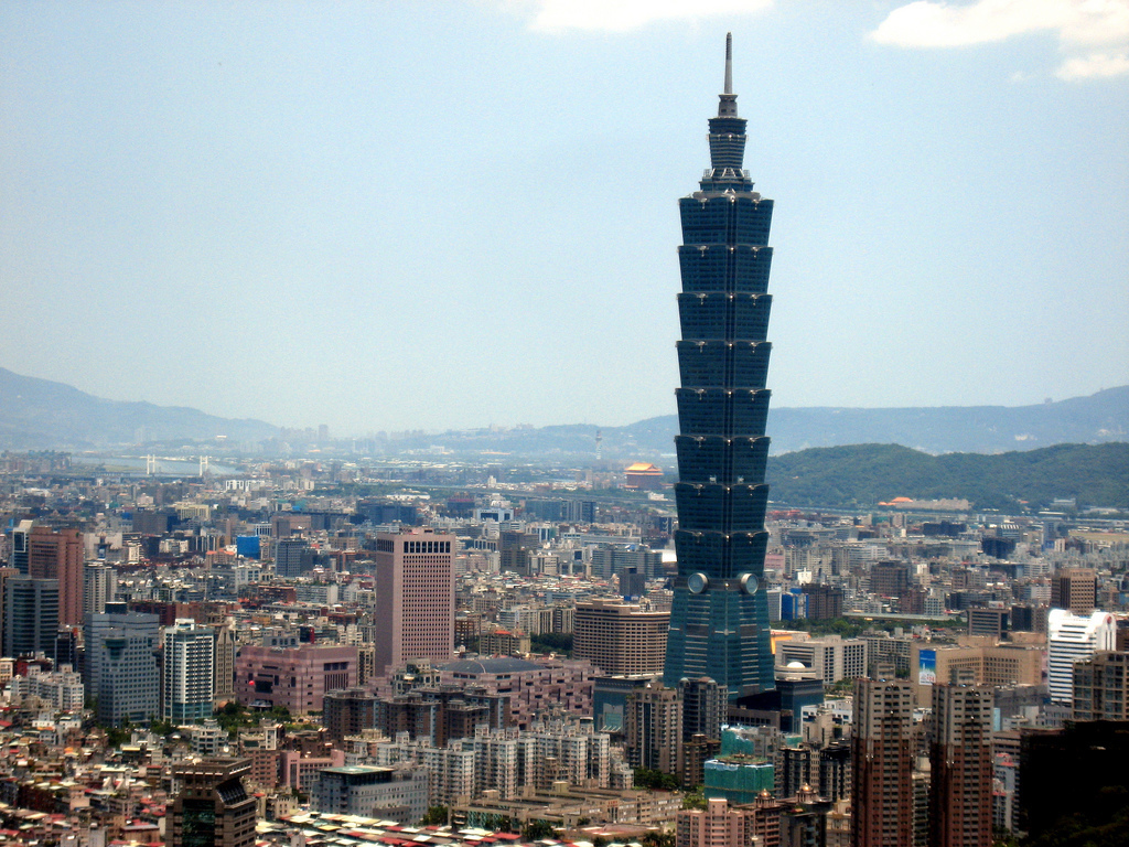 taipei 101 in taipei - attraction in taipei, taiwan - justgola
