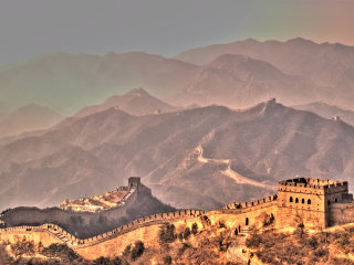 The Great Wall At Badaling © Jonathan Corbet