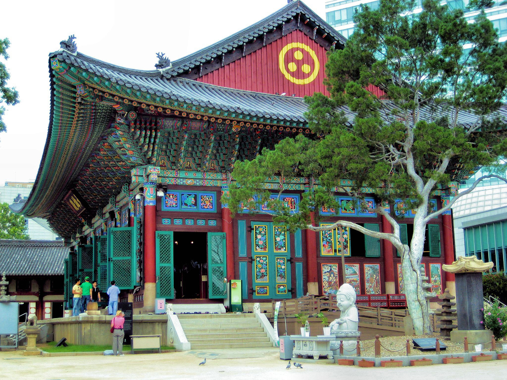 Image result for JOGYESA TEMPLE