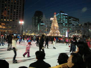 Seoul Square Ice Skating Rink