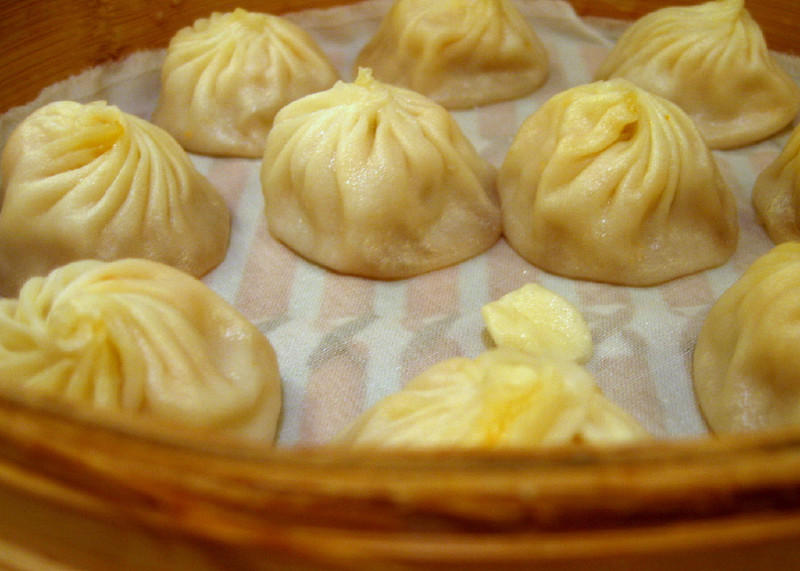 Xiao Long Bao (small steamed buns)