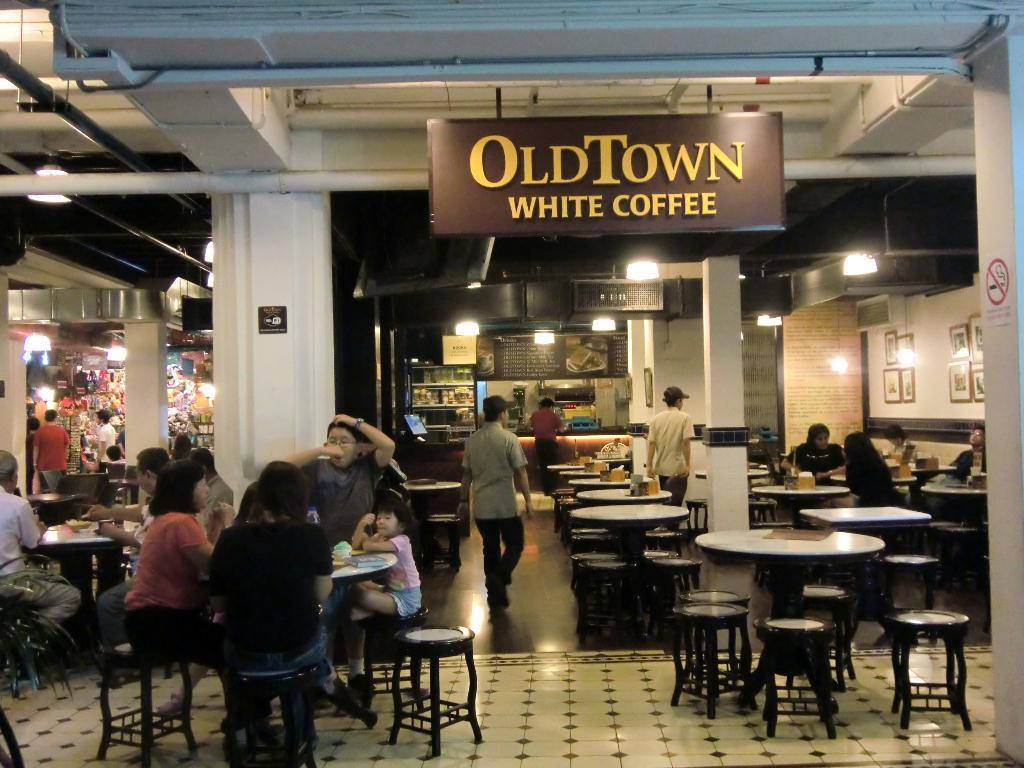 old town white coffee marketing plan Old town white coffee: too much franchise - too much issue - see 155 traveler reviews, 60 candid photos, and great deals for kuala lumpur, malaysia, at tripadvisor.
