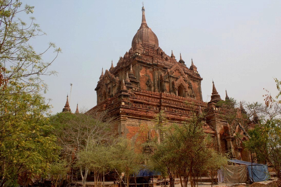 attractions in bagan  myanmar