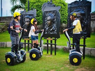 White Knight Electric Chariot Day Tours © White Knight e-Chariot Tours Manila