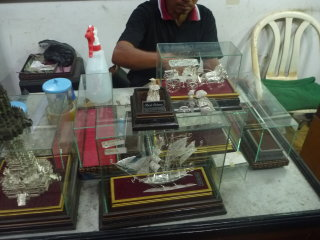 Ansor's Silver Works and Art Shop © Octaviani Pratiwi