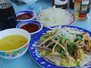Ms Ty Restaurant (Chicken rice) © Hoian FoodTour