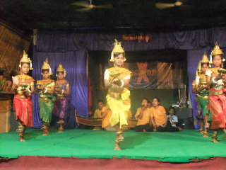 Traditional Khmer Dance at ACODO Orphanage