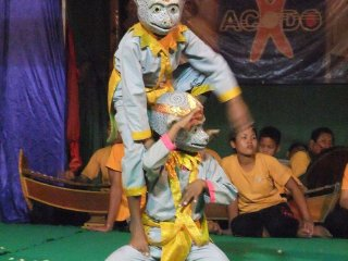 Traditional Khmer Dance at ACODO Orphanage © themissadventurejournals
