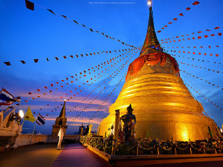 The Golden Mount (Wat Saket) © flickr