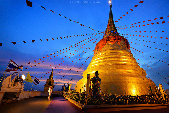 The Golden Mount (Wat Saket) in Bangkok - Attraction in ...