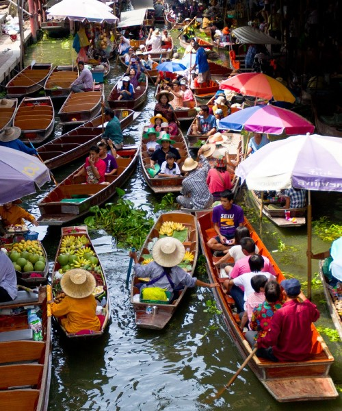 Taling Chan ( Floating Market)