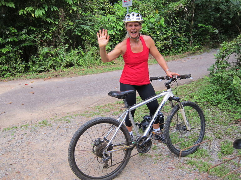 Singapore Bike Adventure around Pulau Ubin