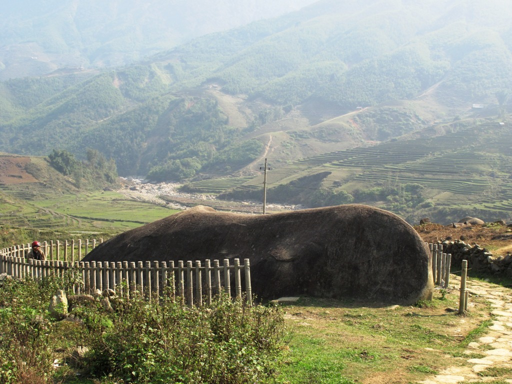 Ancient Rock Field in Sapa