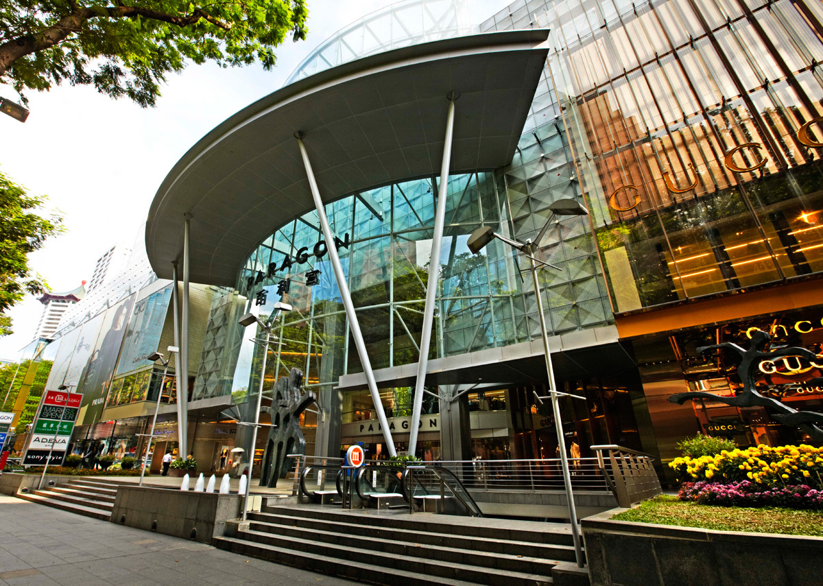 Paragon Shopping Centre In Singapore Shopping In