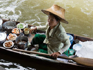 Taling Chan ( Floating Market) © cher-ry.blogspot