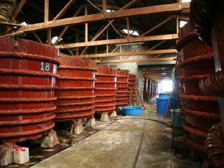 A traditional fish sauce factory © wikimedia