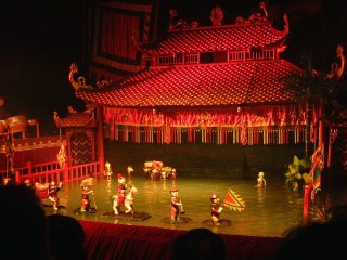 Ho Chi Minh City By Night-Vietnamese Water Puppets © vietnamtravelgroup