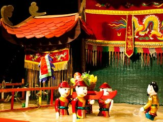 Ho Chi Minh City By Night-Vietnamese Water Puppets © citypassguide