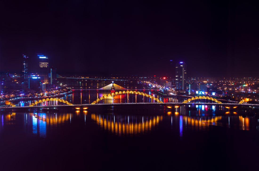 Image result for Da nang by night