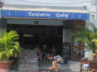 Epic Arts Cafe © Mags Bird