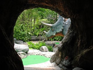 Dino Park Mini Golf © jamie-monk.