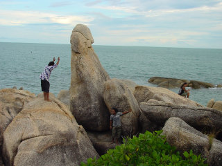 Grandmother and Grandfather Rocks (Hin Yai & Hin Ta) © megalithic