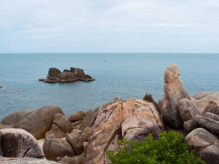 Grandmother and Grandfather Rocks (Hin Yai & Hin Ta) © worldbestplaces
