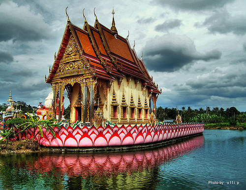 Wat Plai Laem in Ko Samui - Attraction in Ko Samui, Thailand - Justgola