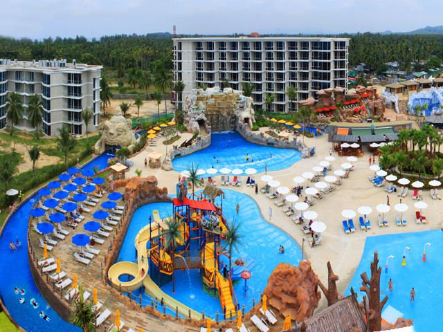 Splash Jungle Water Park In Phuket Attraction In Phuket