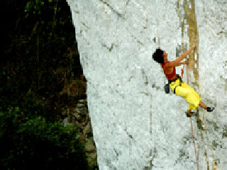 Rock Climbing Course Vang Vieng Half Day
