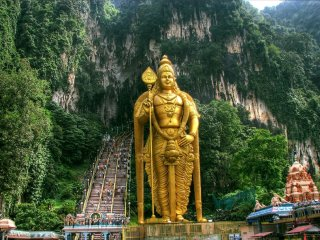 Batu Caves and Countryside Tour