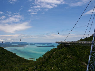 Langkawi Cable Car Ride © Andrew Lawson