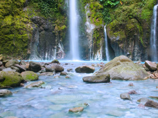 Two Colors Sibolangit Waterfall