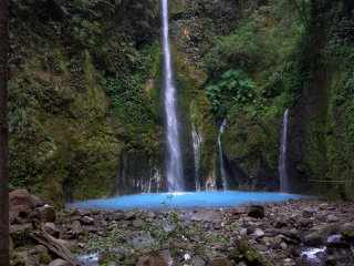 Two Colors Sibolangit Waterfall © Bangbeni