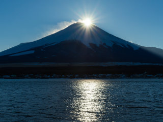 Lake Yamanakako (Fuji Five Lakes) © peaceful-jp-scenery