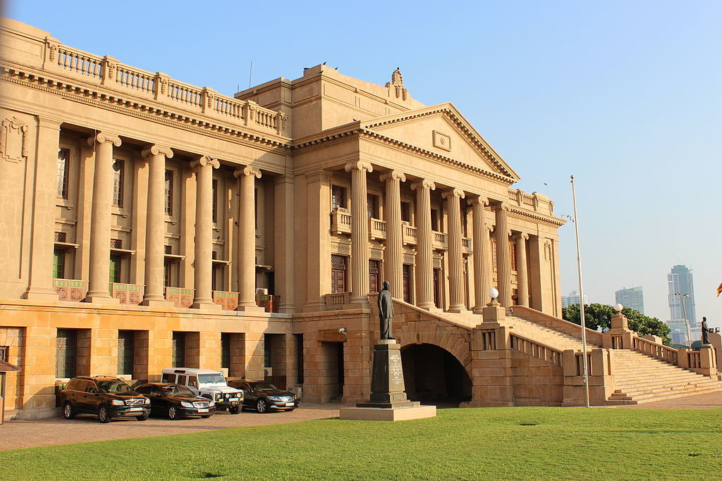 Old parliament building in colombo attraction in colombo - Sri lankan passport office in colombo ...