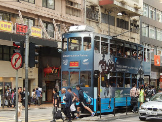Ding Ding Tram (Double Deckers) © Michael Coghlan