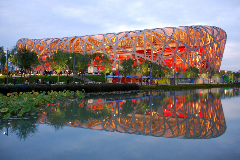 Bird 39 s nest in beijing attraction in beijing china for The bird s nest stadium