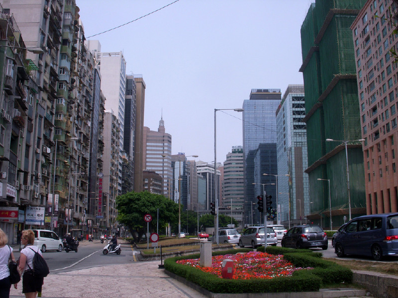 Macau city center