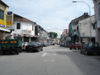 Penang city center