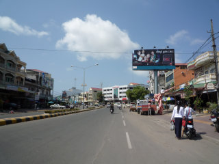 Sihanoukville city center