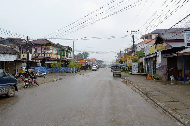 Vang Vieng city center