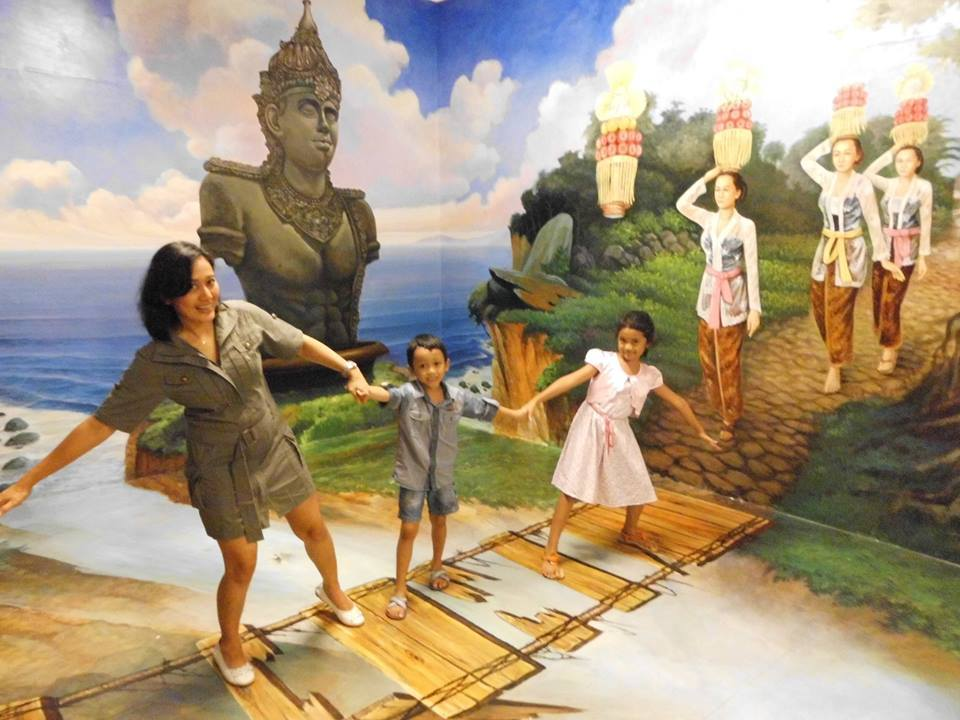 Gallery Trick Art 3d Seminyak In Bali Attraction In Bali